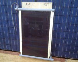 Prototype hybride zonnecollector getest met zonnesimulator