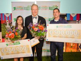 Douche met waterrecycling wint half miljoen