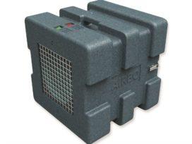 Luchtreiniger voor bouw filtert kwartsstof