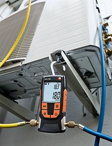 Testo lanceert de nieuwe testo 552 digitale vacuümmeter!
