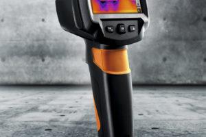 Warmtebeeldcamera vóór en dóór u ontwikkeld – de testo 870