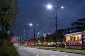 Primeur in Rijswijk: led boven tramlijn