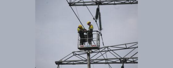 Nieuwe meettechniek zorgt voor meer stroom door hoogspanningslijn