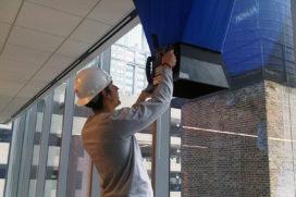 Normen voor ventilatie op de helling