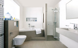 Wedstrijdje badkamer opknappen in één dag