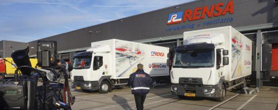 Rensa 25 december bij Schoner Nederland op RTL 4