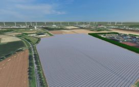 123.000 zonnepanelen op grootste zonnepark van Nederland