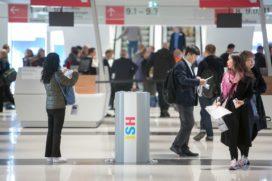 Recordaantal buitenlandse bezoekers op ISH