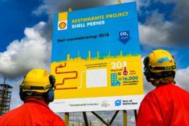 Restwarmte Shell Pernis voor 16.000 huishoudens