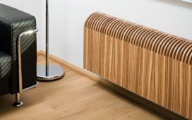 Radiator in hout