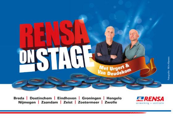 Rensa on Stage weer van start