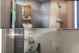 Badkamer in een dag gerenoveerd - Gawalo.nl