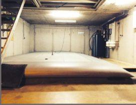 PVT-panelen met bufferzak voor gasloos koelen en verwarmen