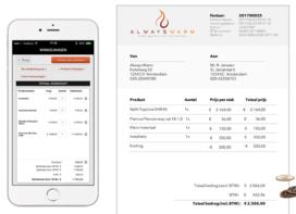 Groothandel ontwikkelt facturatie-app