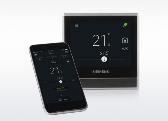Nieuwe slimme thermostaat van Siemens op de markt
