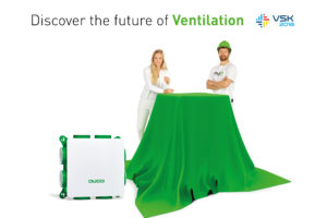 Duco brengt de toekomst van ventilatie naar VSK 2018