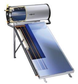 Water verwarmen met een zonneboiler