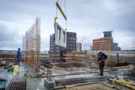 Leemanstoren: logistieke uitdaging voor installateur en groothandel