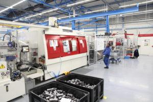 Persfittingen volautomatisch gelast in fabriek