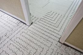 Koppeling vloerverwarmingssysteem aan warmtepomp