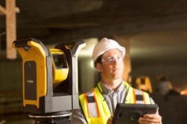 Scanners en robots voor de bouwplaats