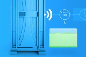 Slim mobiel toilet toont mogelijkheden IoT