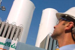 Drie stikstoffabrieken voor Gasunie in Groningen