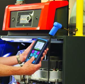 Rookgasmeting aan installatie boven 100 kW volgens SCIOS