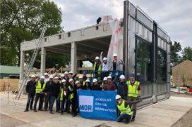 Delftse studenten ontwerpen modulair energieleverend appartement