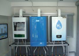 Eerste cv ketel op 100% waterstof geïnstalleerd