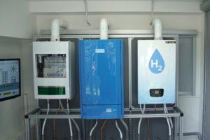 Eerste cv ketel op 100% waterstof geinstalleerd