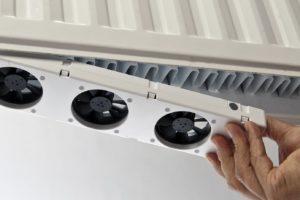 Minder gasverbruik door radiator-ventilator