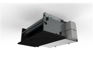 Verwarmen en koelen met slanke en stille ventilatorconvector